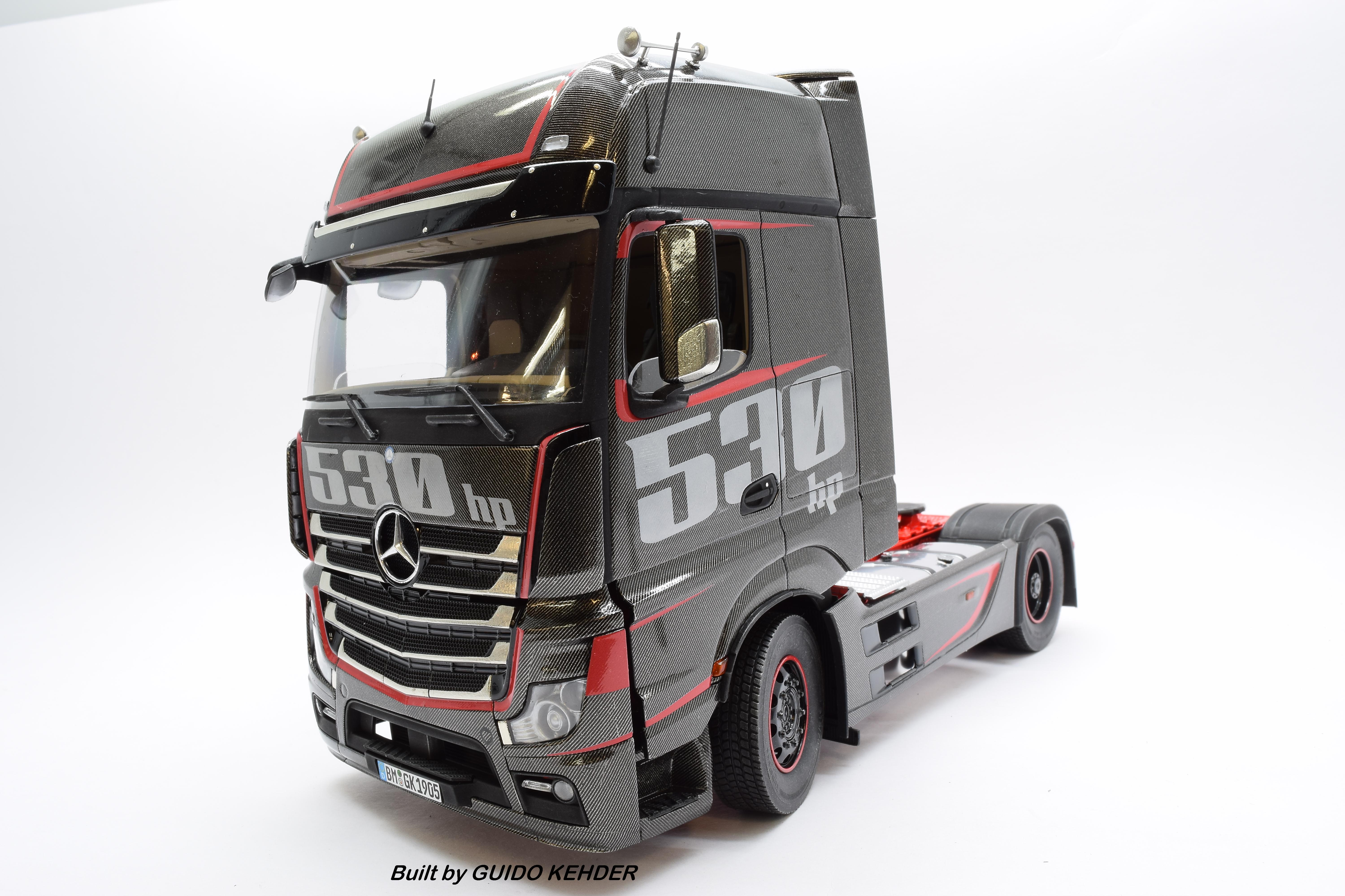 mercedes actros mp4 racing edition in 1 24 scale max model. Black Bedroom Furniture Sets. Home Design Ideas