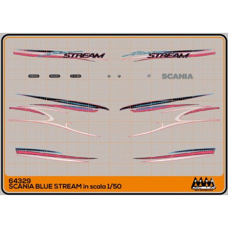 M64329 Blue Stream - Scania kit