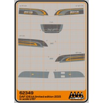 M62349 - DAF 106XF Limited Edition 2015 - kit
