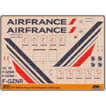 Air France new logo - Boeing 777-300 kit Zvezda - M96310