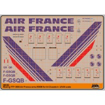 Air France ante 2008 - Boing 777-300 kit Zvezda - M96311