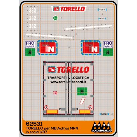 Torello MB Actros MP4  -  kit truck - M62531