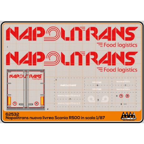 Napolitrans new livery - new Scania R500 - M62532