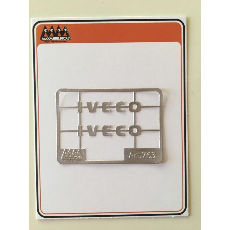 M763 - Iveco front logo silver - 3D