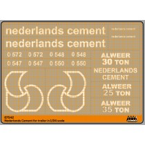 M67542 - Nederlands Cement for trailer