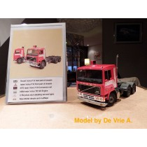 Volvo F10 F12 kit white lines - M67369 Model by De Vrie A.