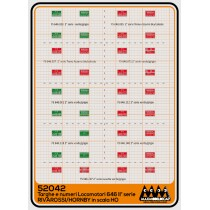 M52042 - Plates for loco 646 II series for Rivarossi/Hornby -  3D