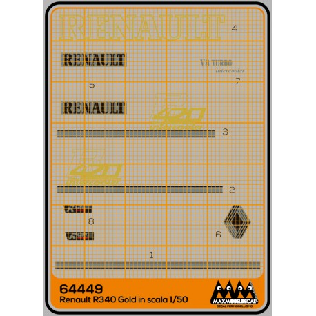 Renault R420 Gold - kit - M64449