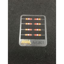 Rear lights for Mercedes  1:87 -  3D - M801