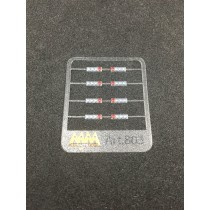 M803 - Rear lights silver led 1:87 - 3D