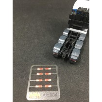 Rear lights for MAN TGX and TGA  1:87 -  3D - M804