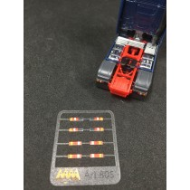 Rear lights for Mercedes MP4  1:87 -  3D - M805