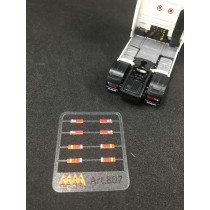 Rear lights for DAF XF106 and XF105 1:87 -  3D - M807