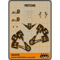 M62305 - Pistons - Kit Scania