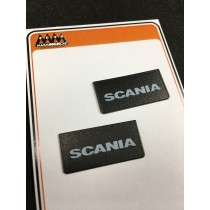 Small Scania Mudflaps 1:24 - 3D - M745A