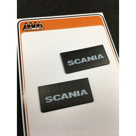 Small Scania Mudflaps - 3D - M745A