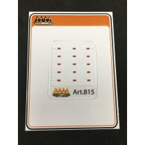 M815 - Small red marker lights 1:24 -  3D