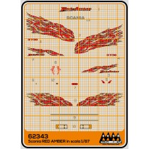 M62343 - Red Amber - Scania kit