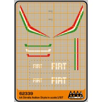 FIAT Tricolor striped - Iveco kit - M62339