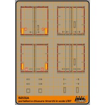 M62131A - Rear doors and shutters - trailers with red lines- set2