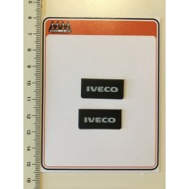 Small mudflaps IVECO  lettering 1:24 - 3D - M720 size