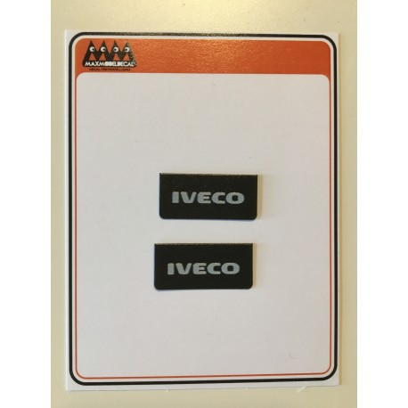 Small mudflaps IVECO  lettering 1:24 - 3D - M720