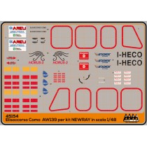 M45154 - 118 Como I-HECO AW 139 - Kit New Ray