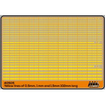 M40505 - Yellow Stripes different size