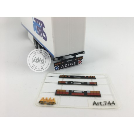 M744 - Rear lights kit 1:87 - 3D