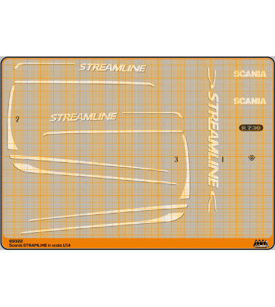 Streamline white - Scania Kit - M69322