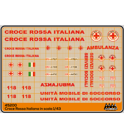 Italian Red Cross - generic - M45200