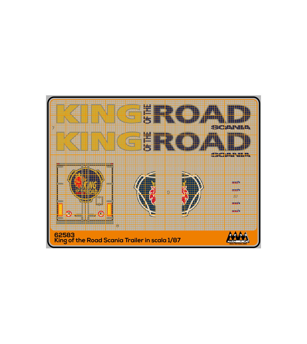 King of The Road trailer - M62583