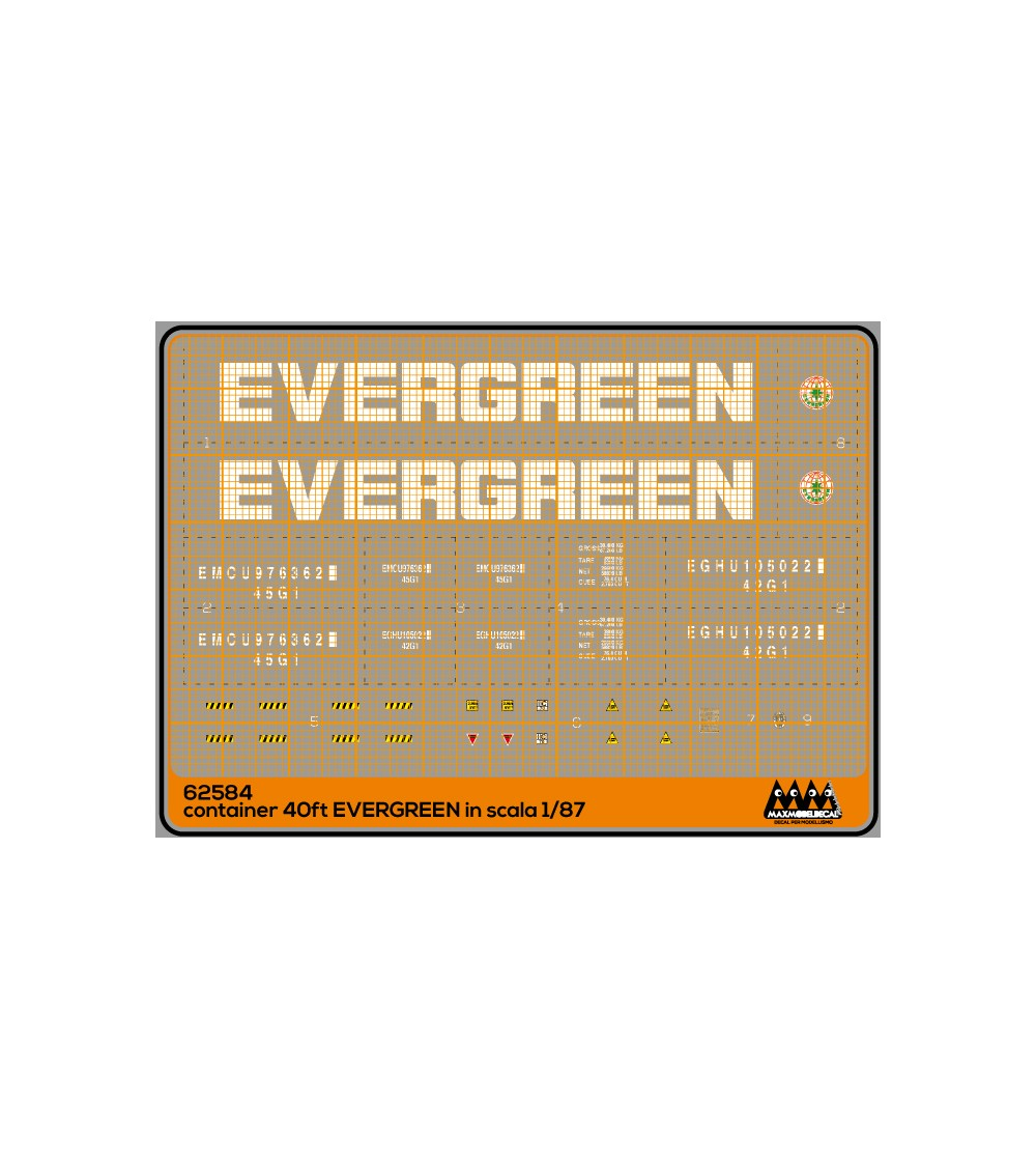 Container 40 ft Evergreen - M62584