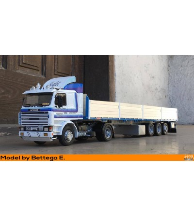 Scania 2a serie blu T-R model  - Scania Kit intercooler version - M67415
