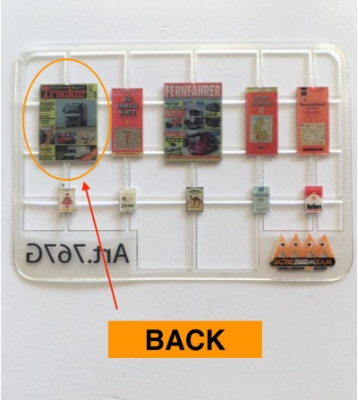 Dashboard accessories Germany 1:24 - 3D - M767G back