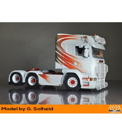 Griffin red and black - Scania kit - M62341 model Solheid