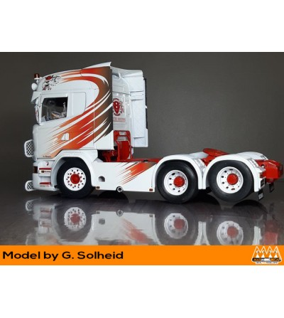 Griffin red and black - Scania kit - M62341 model Solheid sx