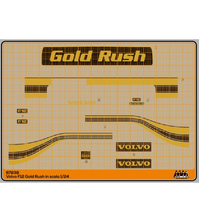 Volvo F12 Gold Rush - M67838
