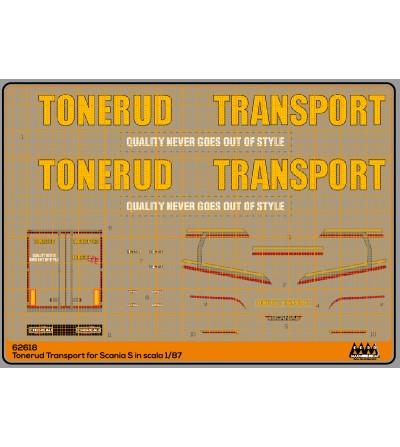 Tonerud Transport for Scania S - M62618