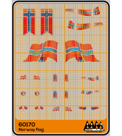 Norway - flags - M60170