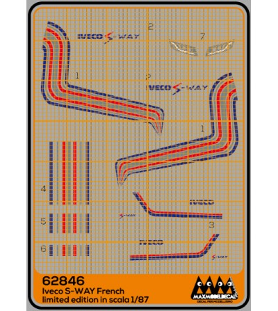 S-Way French - Iveco kit - M62846