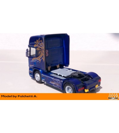 Scania R Sweden Limited Edition - Kit Scania - M62462 posteriore