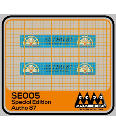 Special Edition Autho87 2021 - decal - SE005