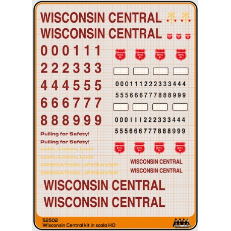 M52502 Wisconsin Central - kit US
