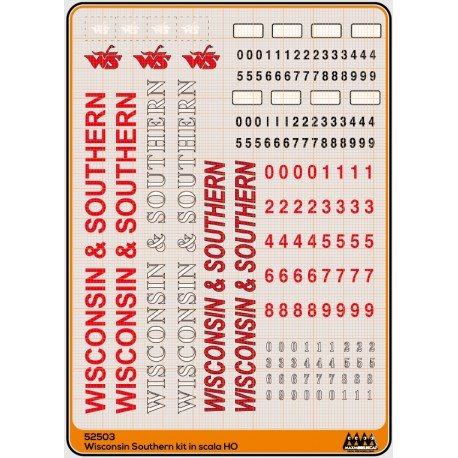 M52503 Wisconsin Southern - kit US