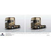 Gold Griffin 50th - Scania Kit - M62378