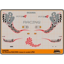Racing red - Scania Kit