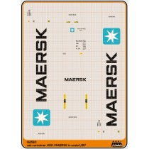M62510 - Maersk - Container 40 ft