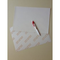 Waterslide laser white decal paper