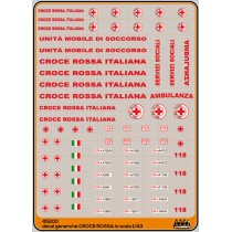 Italian Red Cross - M45200 - 1:43